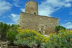 Maurischer Turm des Castell de CapdePera