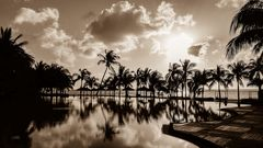 Mauritisches Sonnenspiel