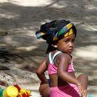 Mauritius - Baby on the beach