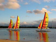 Mauritius - der Tag geht