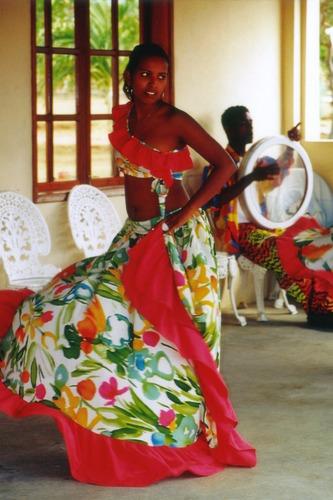 Mauritius Sega-Tänzerin