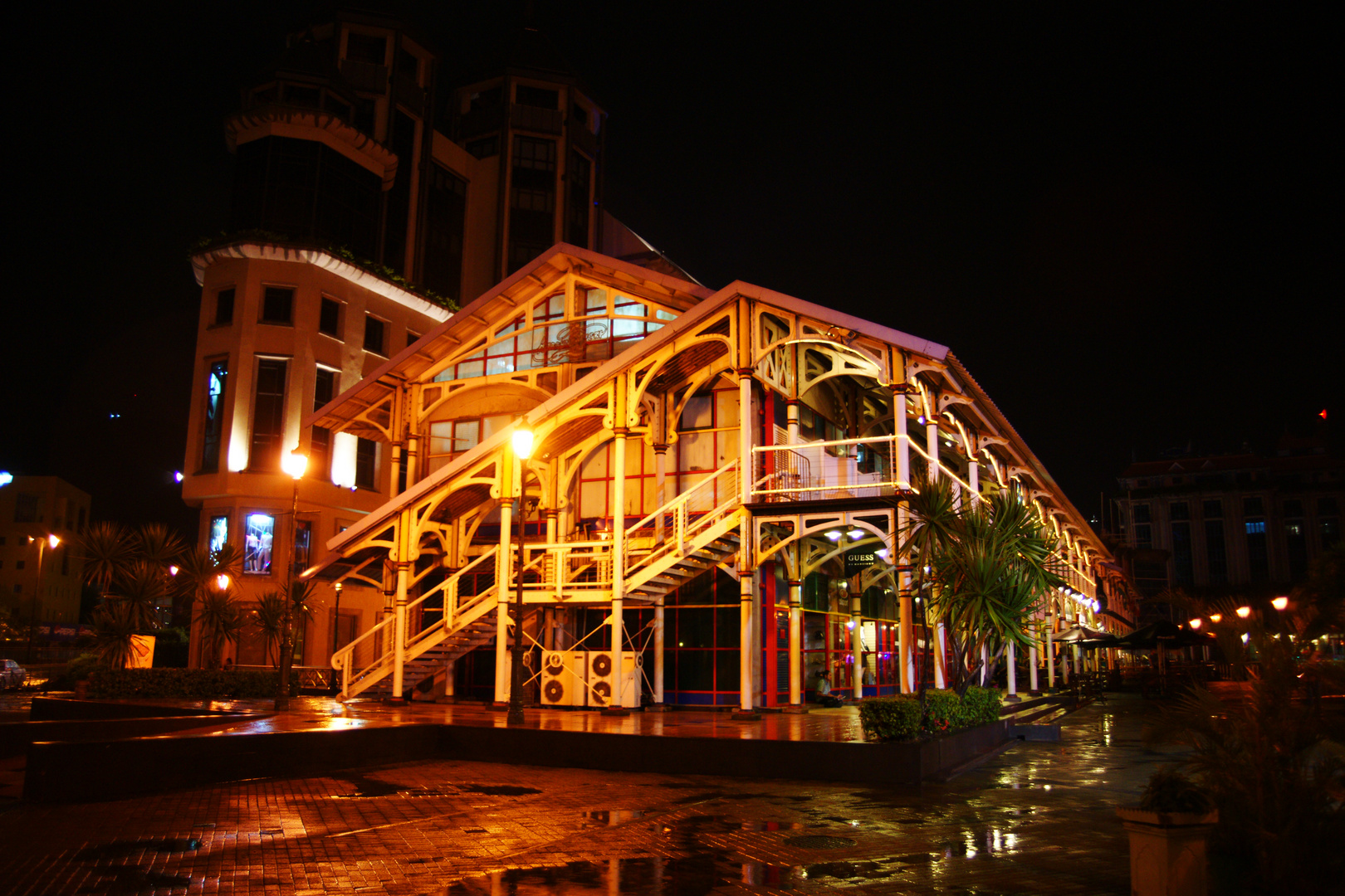 Mauritzius bei Nacht die 1.