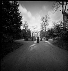Mauseleum im Schloßpark