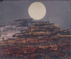 Max Ernst Die versteinerte Stadt