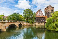 Maxbrücke und Weinstadl Nürnberg 57