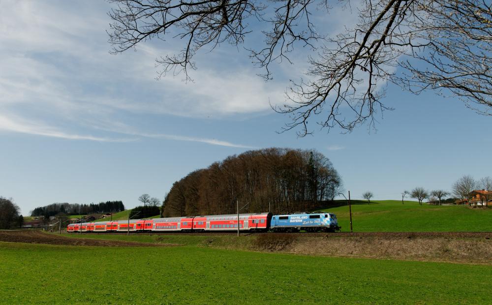 Maxl im Bahnland Bayern
