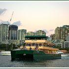 'May Gibbs' ferry on Lavender Bay, Sydney