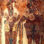 Maya-Fresko in Bonampak