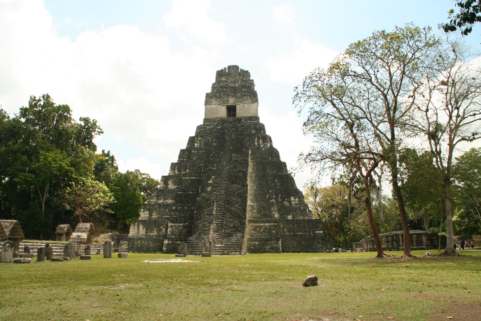 Mayapyramide in Guatemala