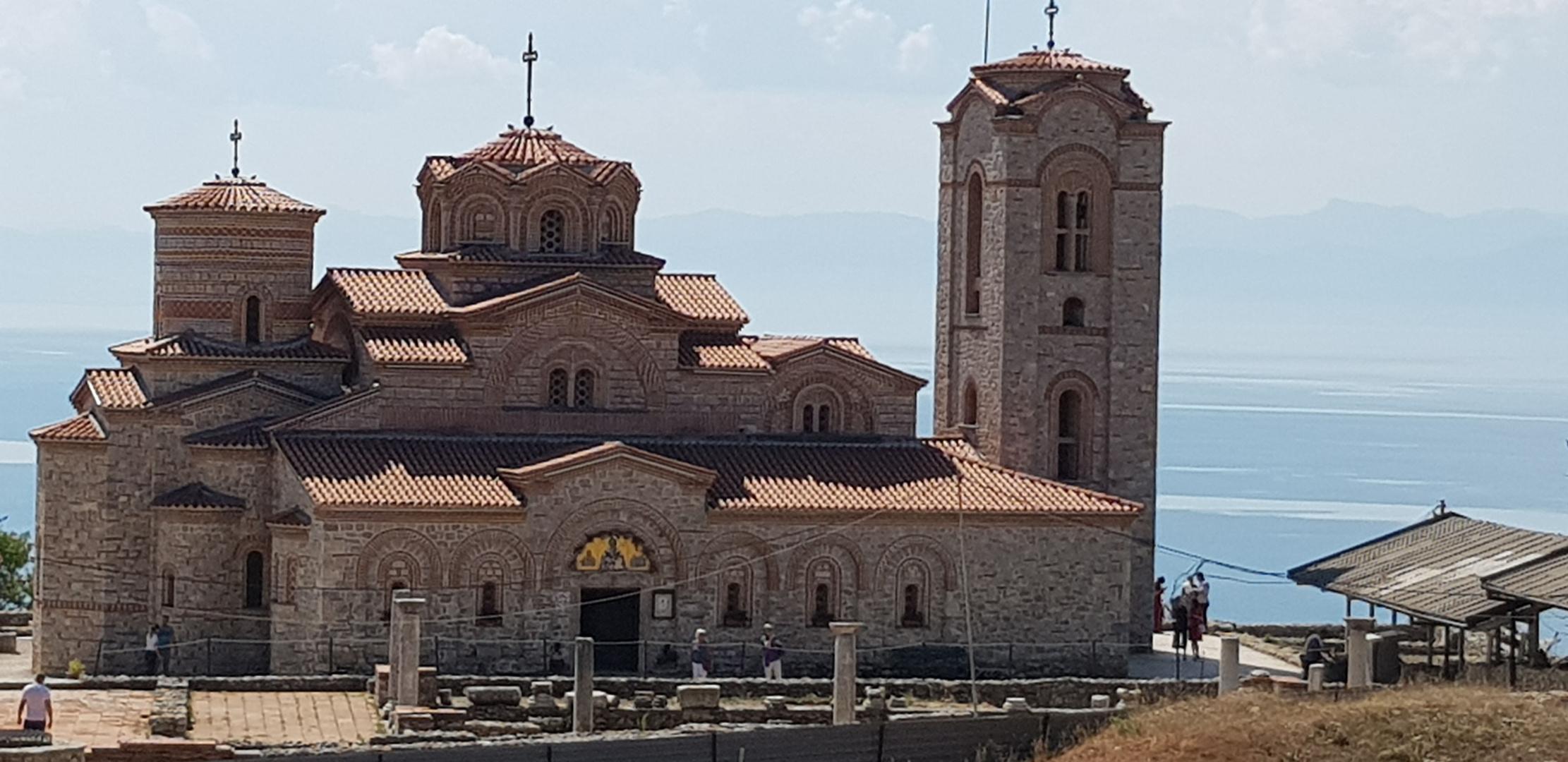Mazedonien Kirche zum heiligen Clemens.