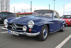 MB 190 SL Blau Metallic