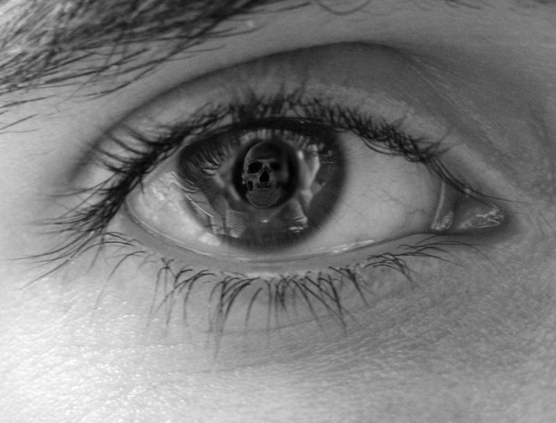 MC Eschers Eye (reflected mortality)