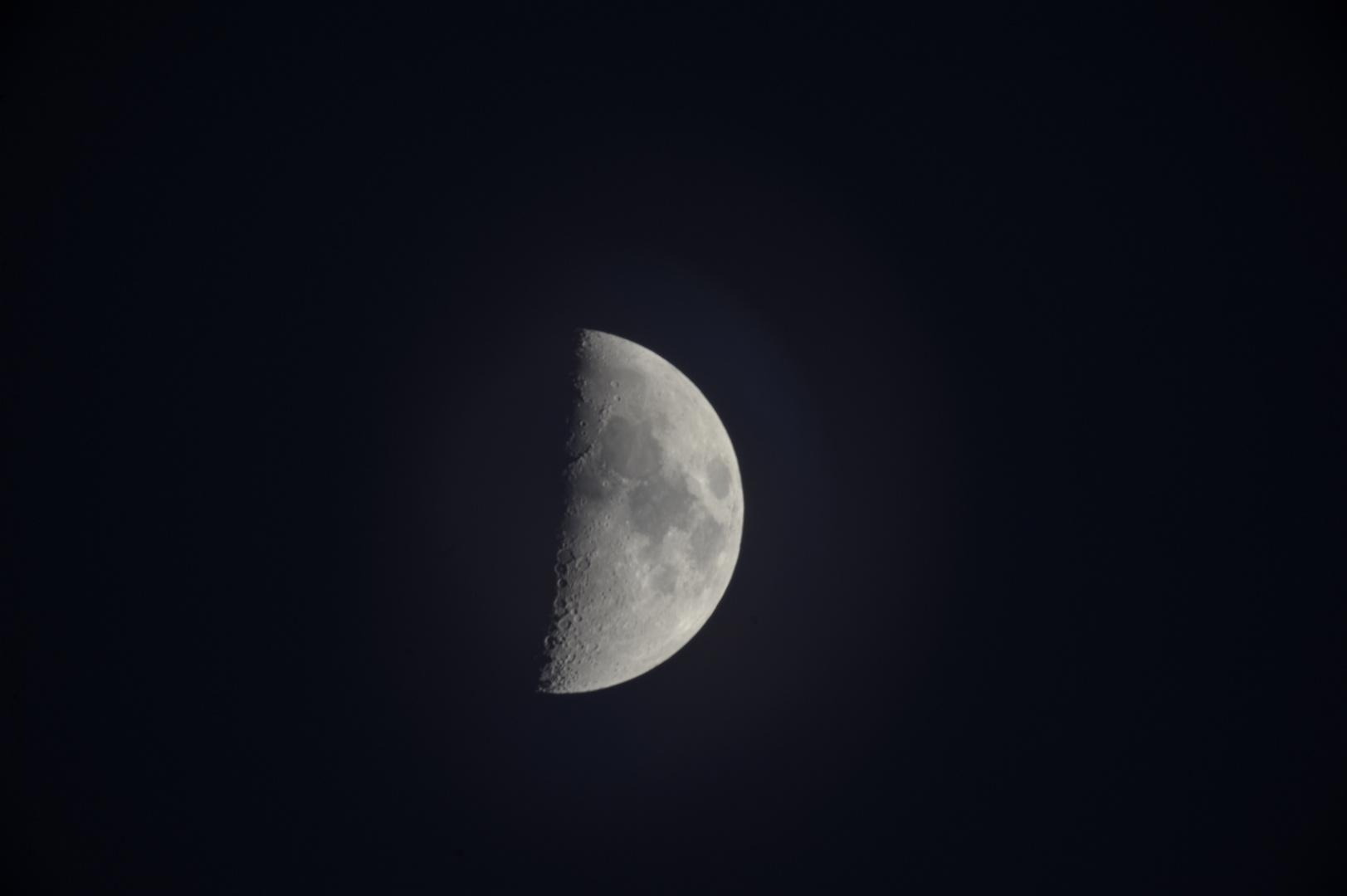 MC Rubinar 10/1000mm Makro - Mond - Die Erste