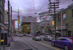 McCaul St., Dundas St. West, Toronto 3-D