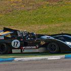 McLaren mit Reifendefekt