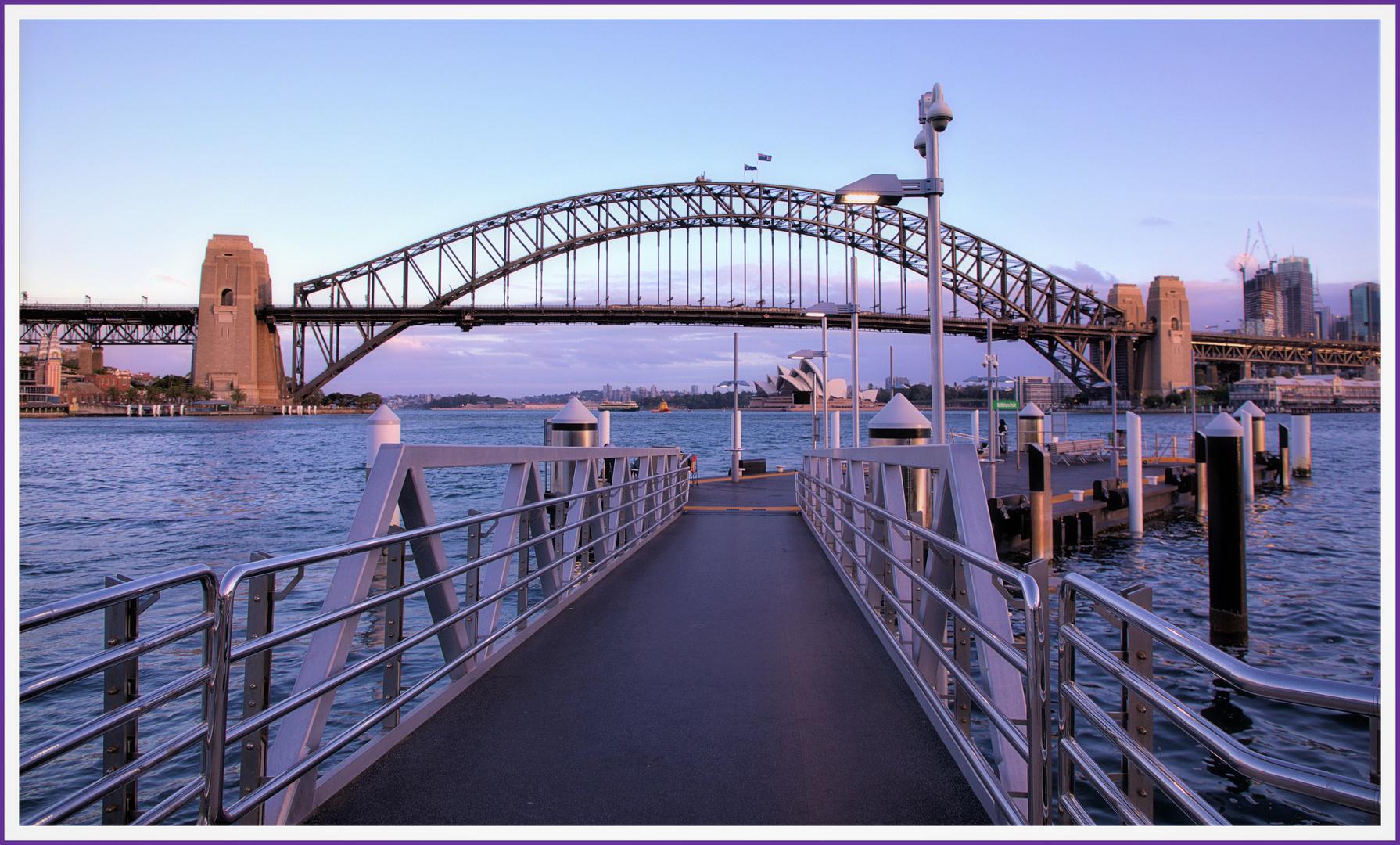 McMahon's Point Wharf, Sydney