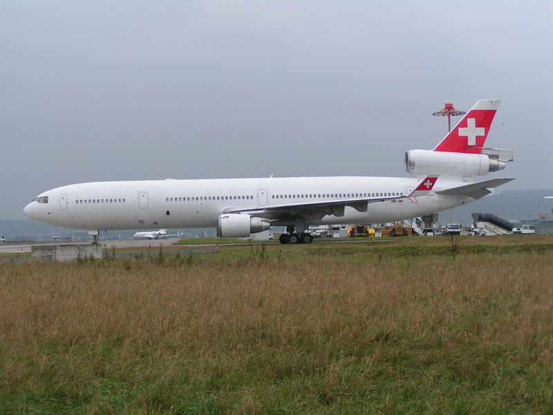 MD-11 Stored at ZRH