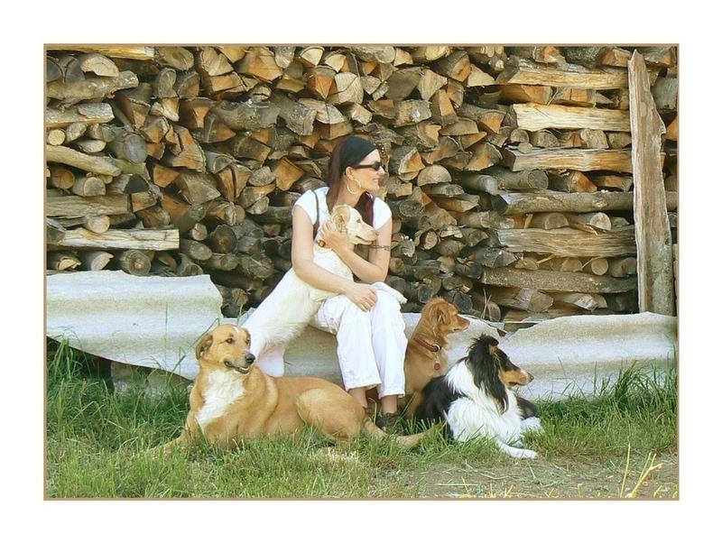 me, myself and my dogs