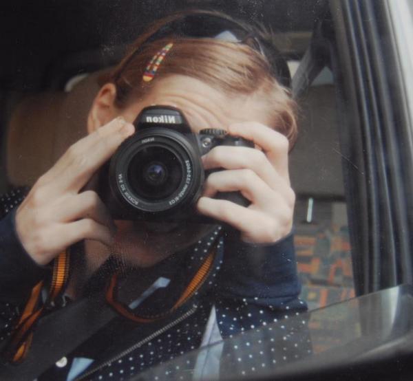 Me stessa la fotografa