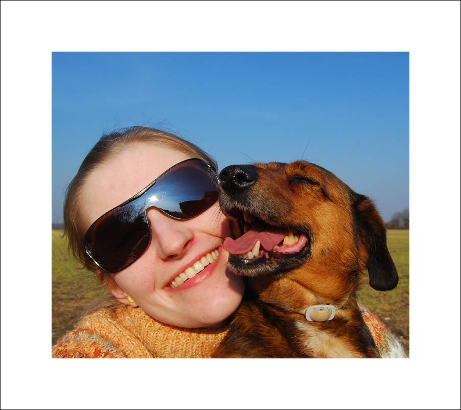 me with my dog