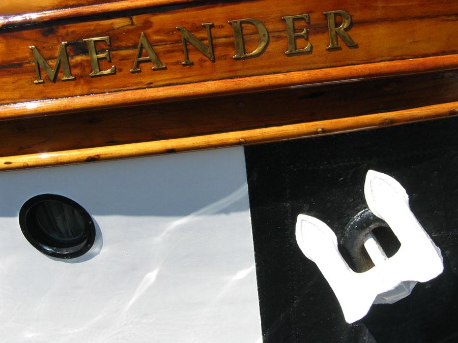 Meander- Schlängeln