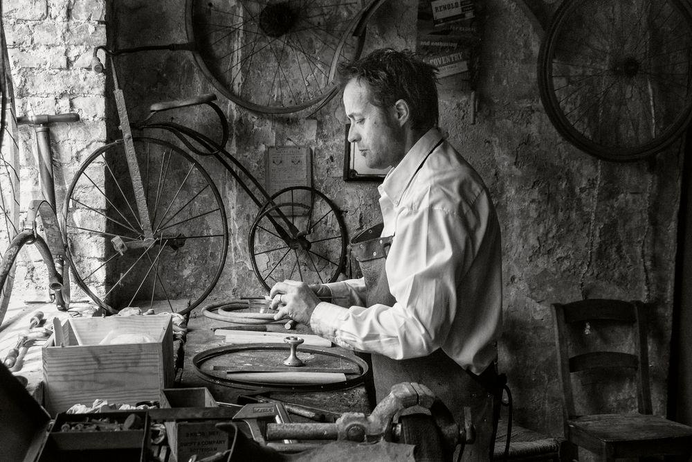 Mécano des vieux vélos