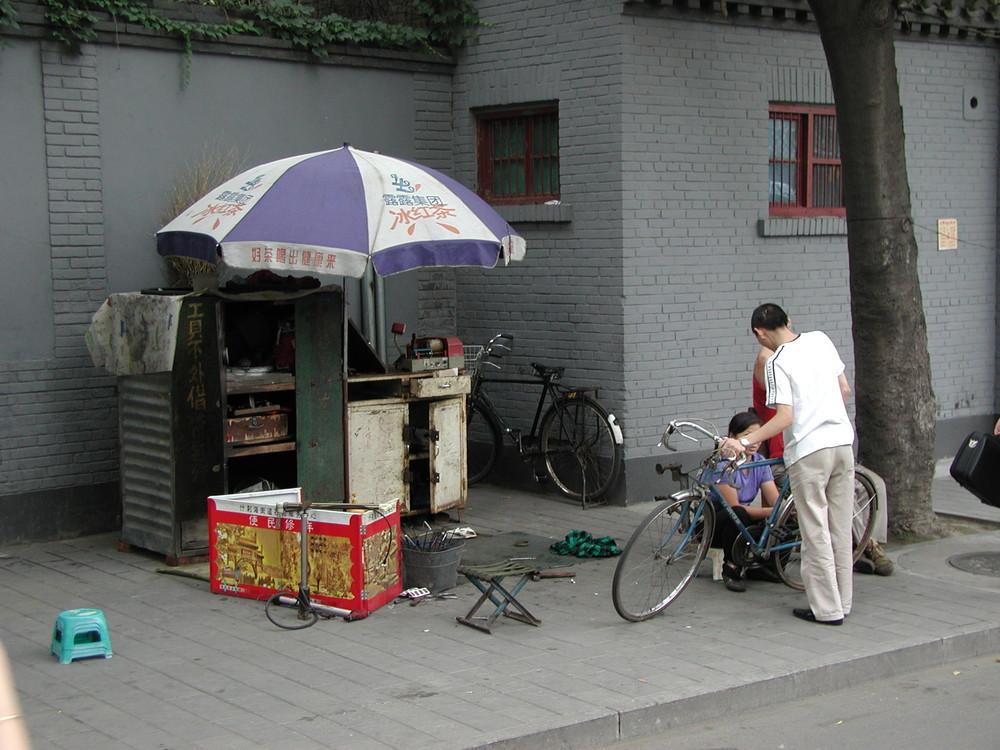 Meccanico ciclista a Pechino
