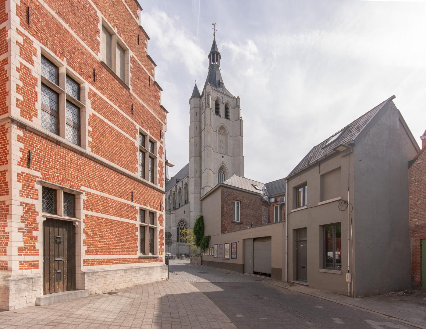 Mechelen - Gebroeders Verhaegenstraat - Onze Lieve Vrouw over de Dijlekerk - 02
