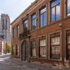 Mechelen - Sint-Katelijnestraat - Sint-Romboutskathedraal