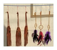 medicine bags and dream catchers