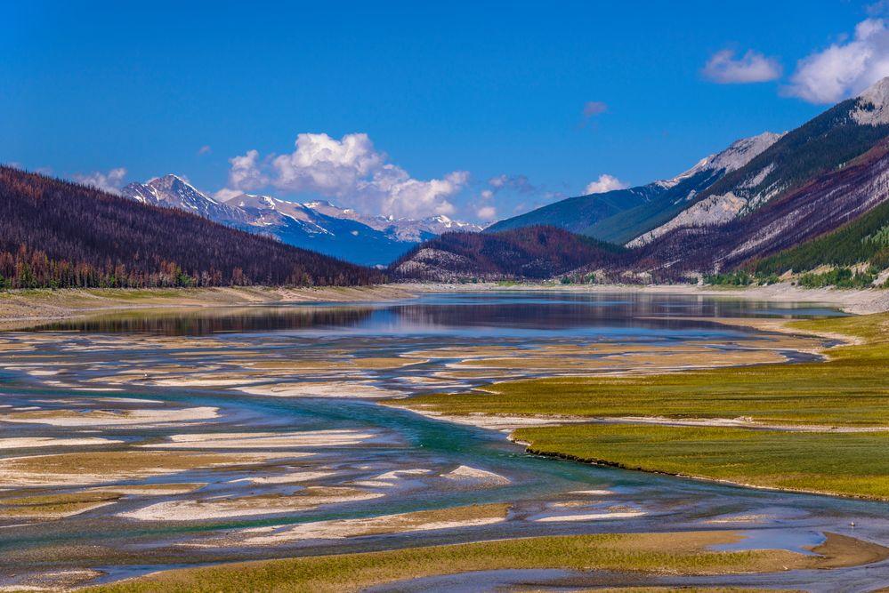 Medicine Lake, Jasper NP, CA