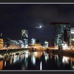 Medienhafen Düsseldorf by night - reload -