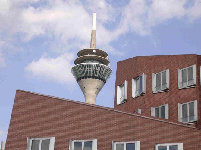 Medienhafen Düsseldorf, Gehry-Bauten No. 2