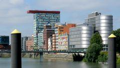 Medienhafen Düsseldorf - Teilansicht
