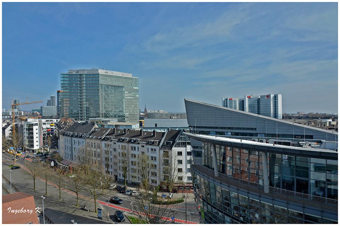 Medienhafen - Stadthaus - RWI-Haus