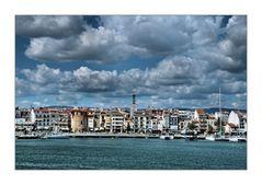 mediterrane Ansicht