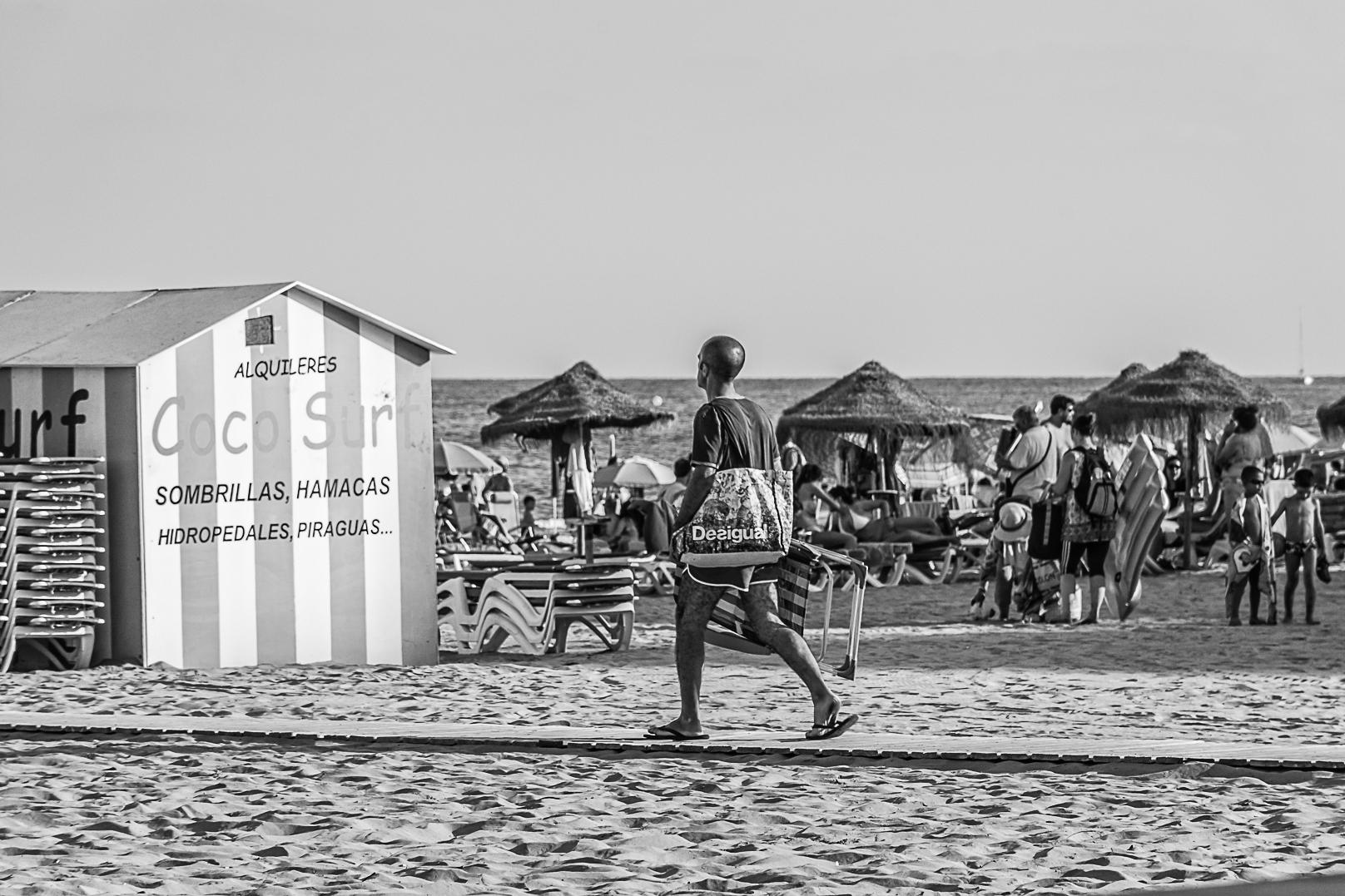 MEDITERRÁNEO 53.  CAMINO. Playa de la Concha, Oropesa del Mar