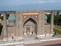 Medrese Sherdor in Samarkand