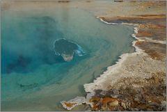 Medusas Aufstieg in Yellowstone