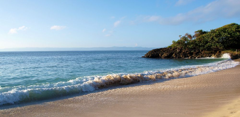 meer strand sonne foto  bild  north america central