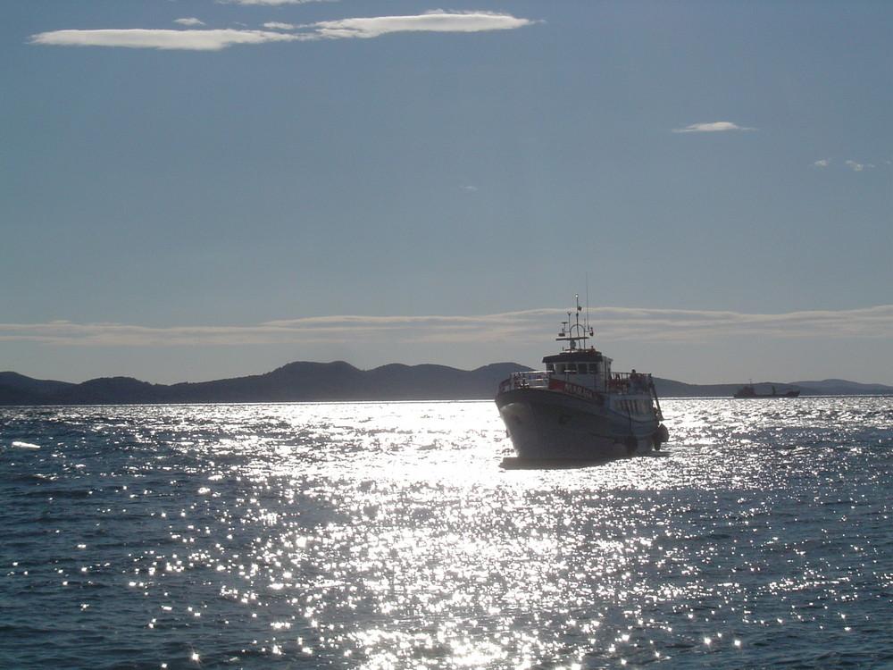 Meeresenge von Zadar
