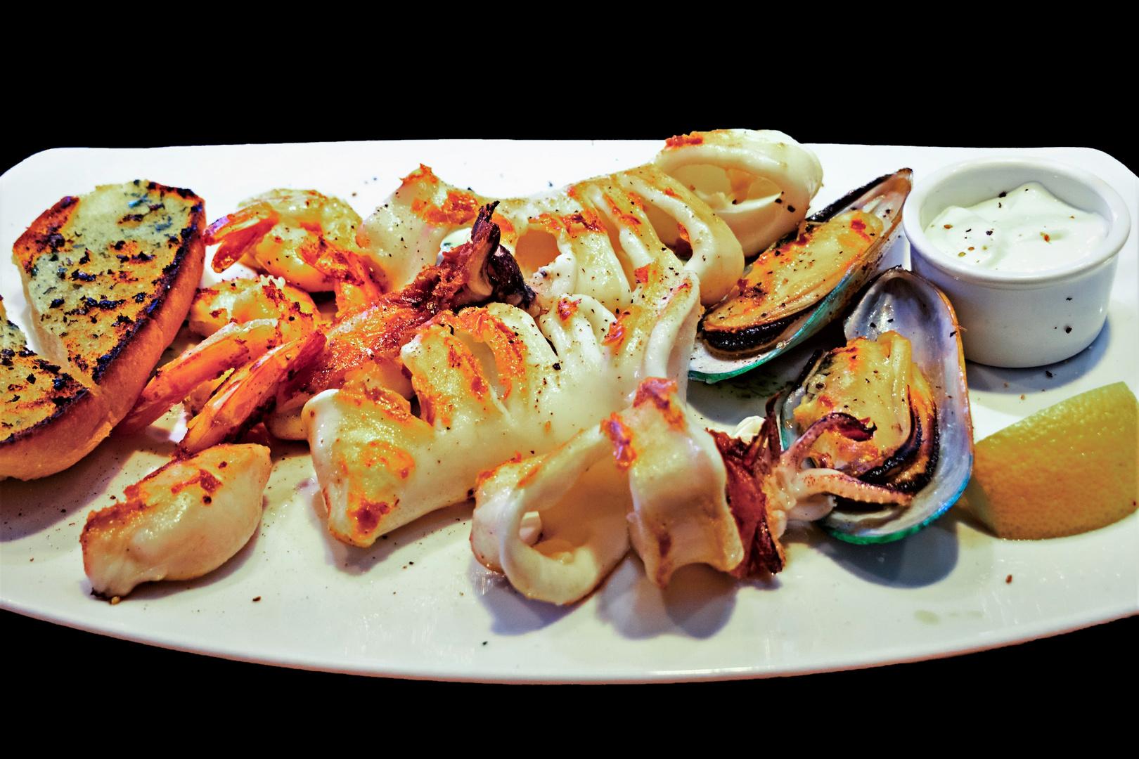 Meeresfrüchte - Grillteller...