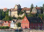 Meersburg - Altes Schloß und Unterstadt