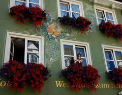 Meersburg Hausfront