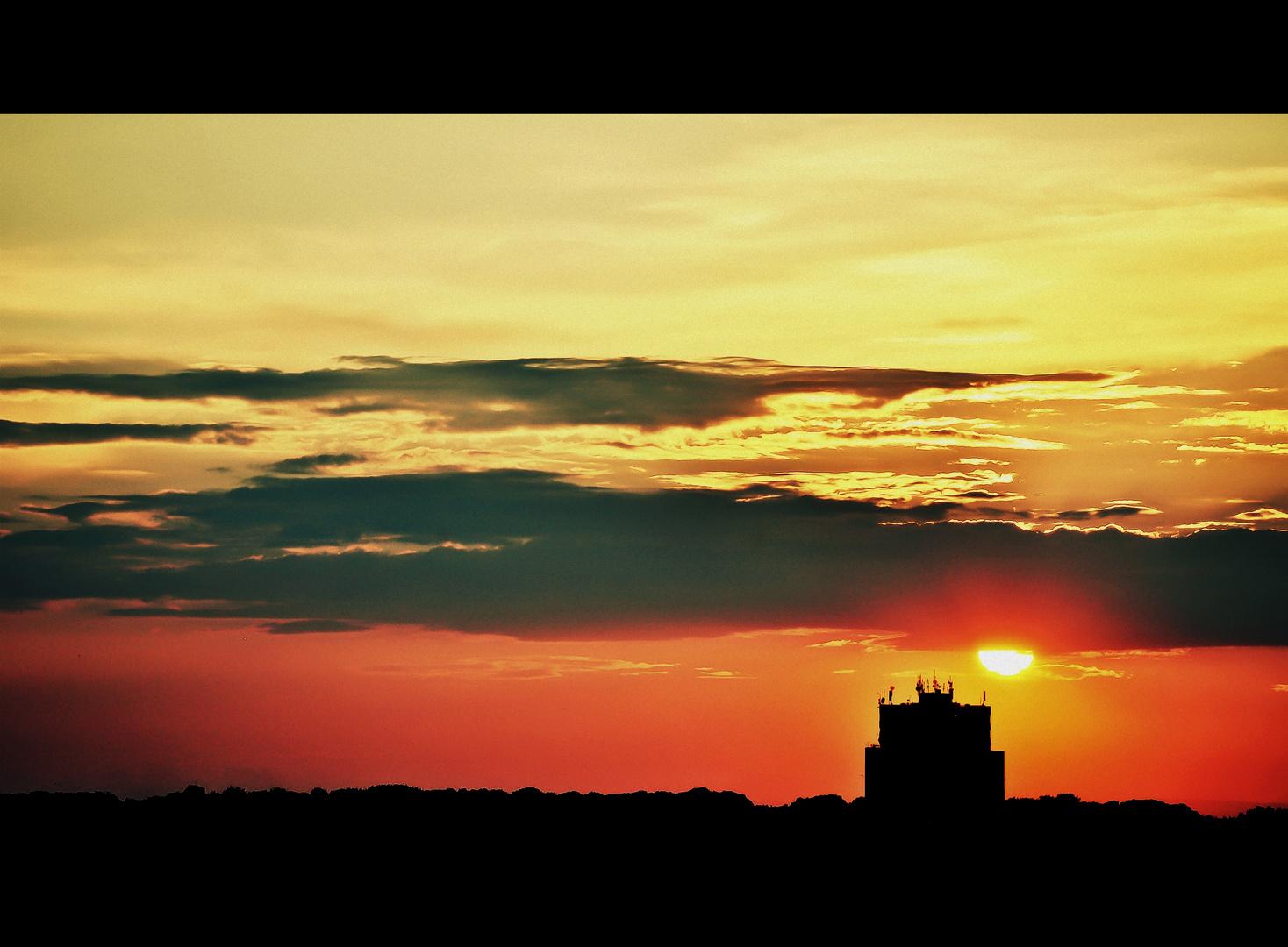 Meet me where the sun sets...