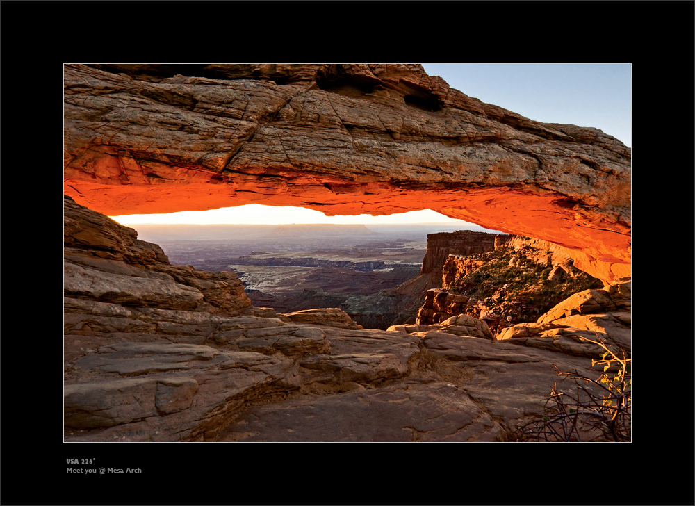Meet you @ Mesa Arch ...