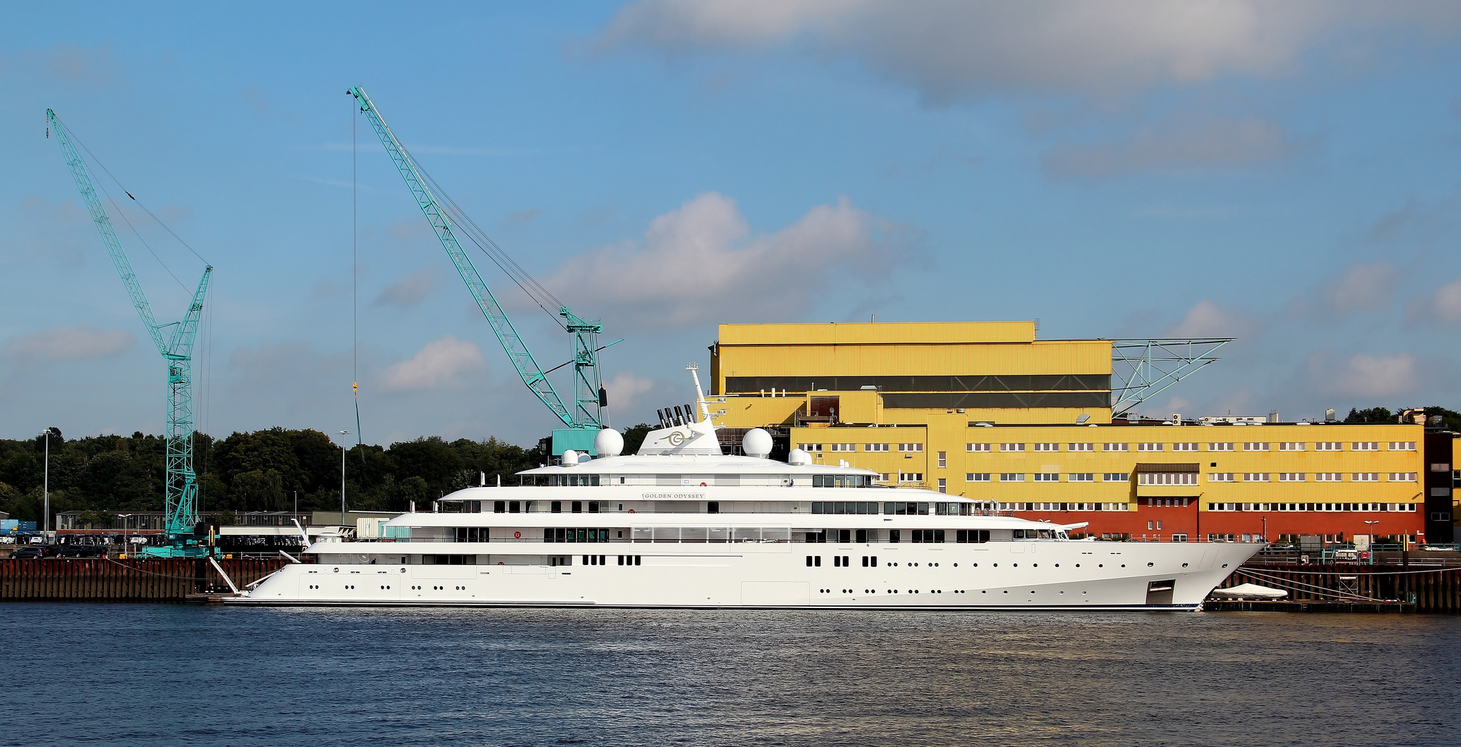 Megayacht Golden Odyssey