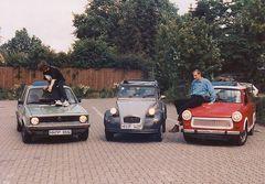 Mein 3., 4. und 2. Auto :-)