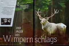 Mein 30jähriges Dienstjubiläum für Jagdzeitschriften