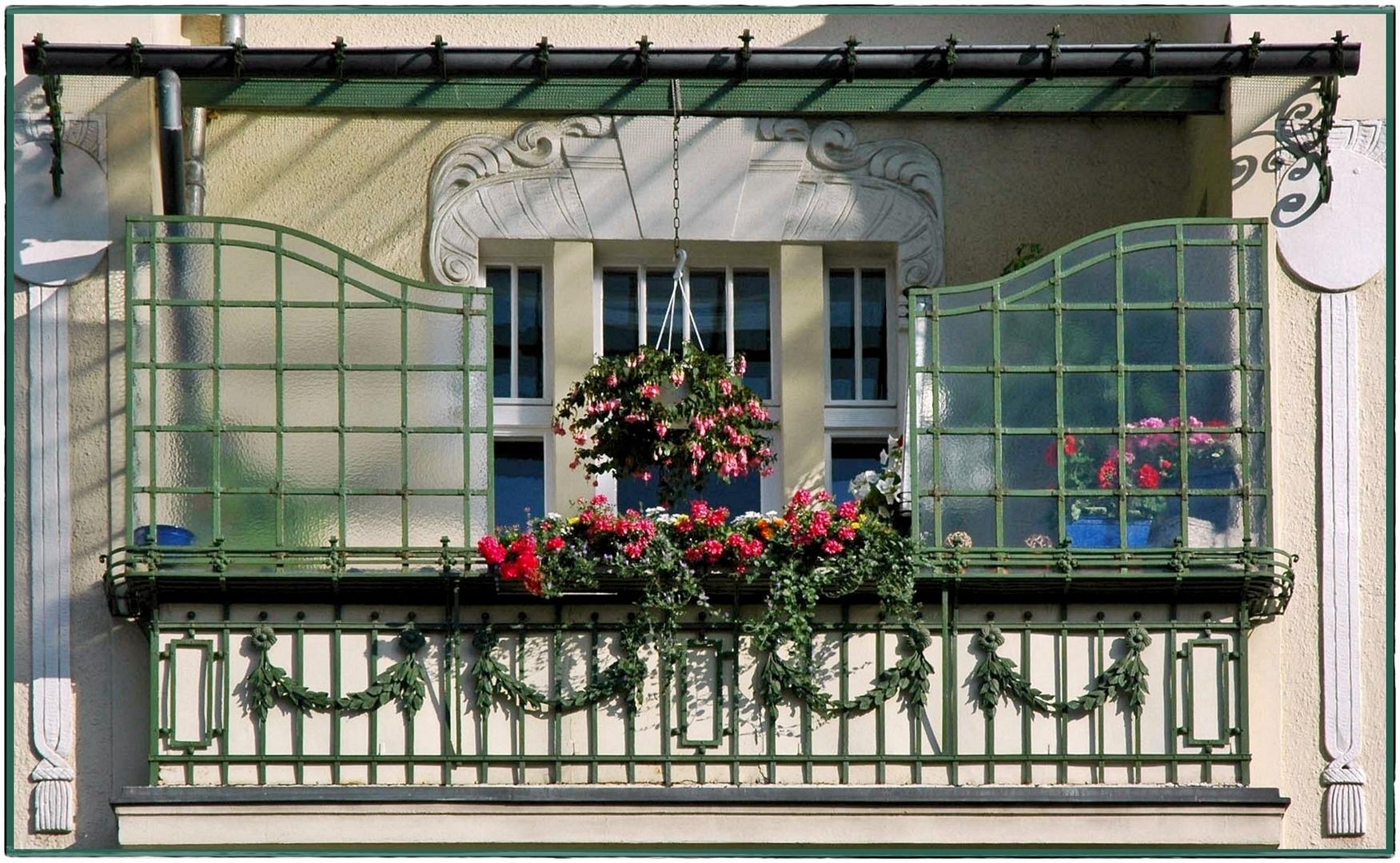 Mein Balkon Ist Mein Sommergarten Foto Bild Architektur